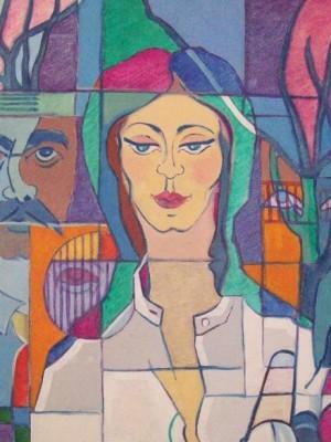 Marrey Peres - Geometrico Mulher